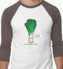 Information Leek Men's Baseball ¾ T-Shirt