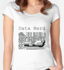 Data Nerd - Geek Design Women's Fitted Scoop T-Shirt