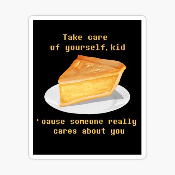 Take care - UNDERTALE Sticker
