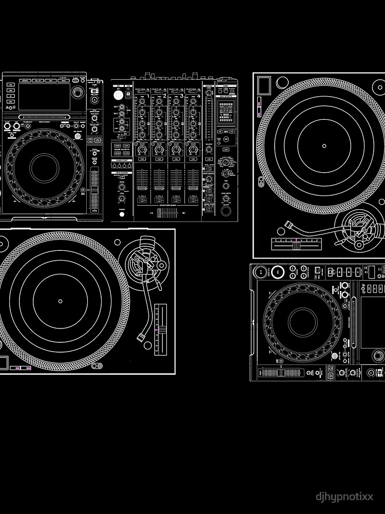 DJ Equipment Gear by djhypnotixx