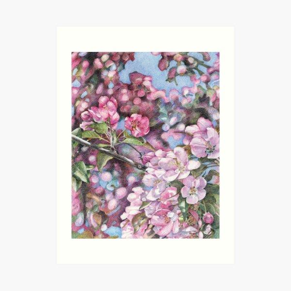 Printemps : l'arbre en fleurs Impression artistique