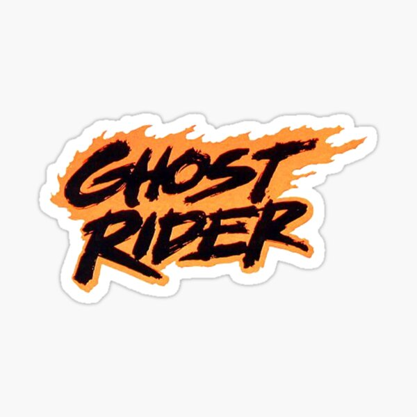 Ghost Rider Stickers Redbubble