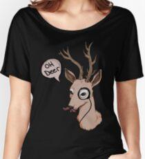 Oh Deer Women's Relaxed Fit T-Shirt