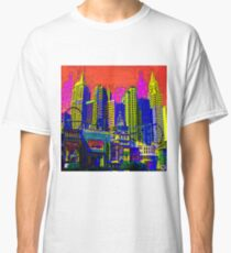 $IN CITY: ABSTRACT CITYSCAPE (UNO) Classic T-Shirt