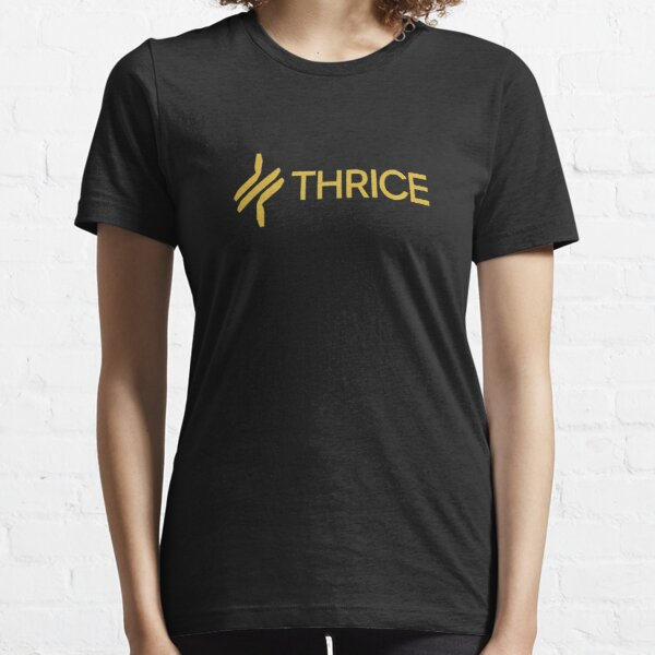Official Thrice Ribbon T-Shirt Major Minor To Be Everywhere Vhiessu Beggars