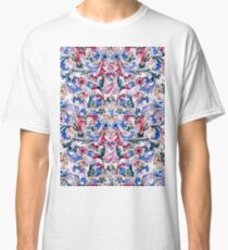 Italian Peacock Floral Classic T-Shirt