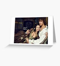 Outlander/Jamie & Claire Fraser Greeting Card