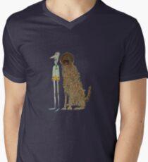 Dogs Life Men's V-Neck T-Shirt