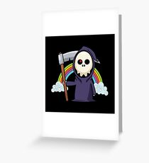 Happy Little Death or La petite mort Greeting Card