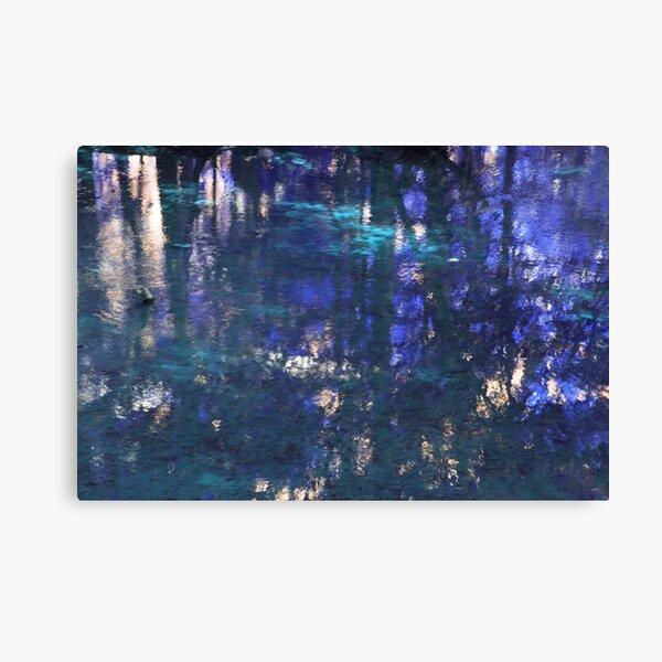 Purple Impressionist Design Canvas Print