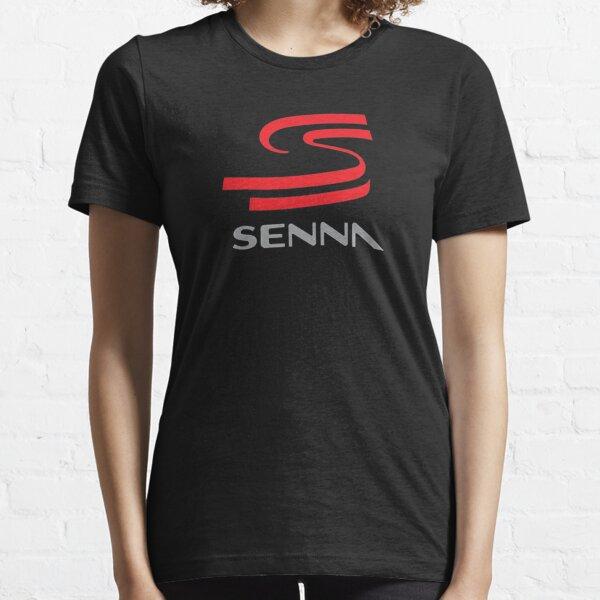 Logo Ayrton Senna T-shirt essentiel