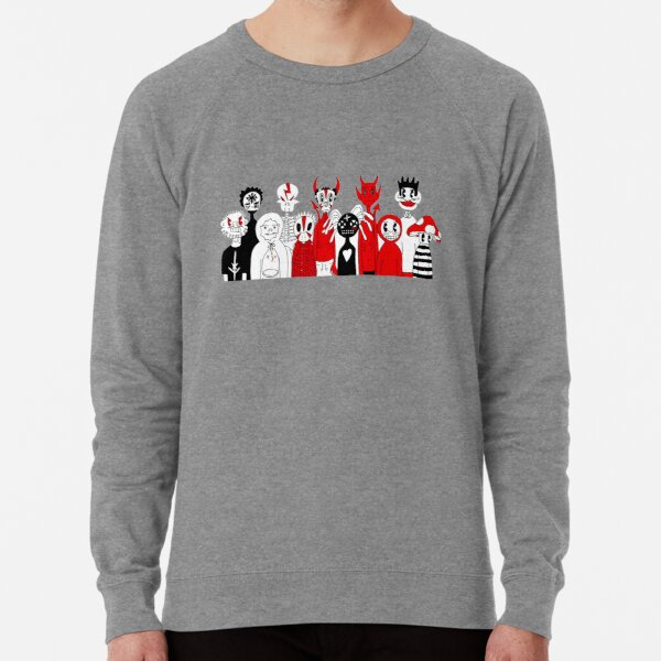 Spider Gang Hand Drawn | Special Fan Gift | Classic Lightweight Sweatshirt