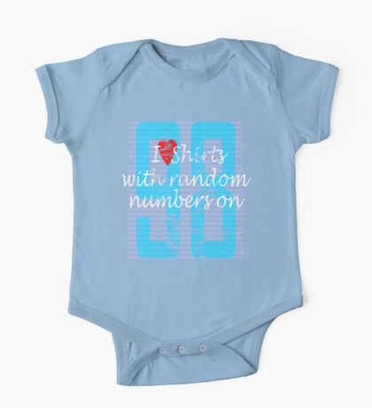 love of numbers  Kids Clothes