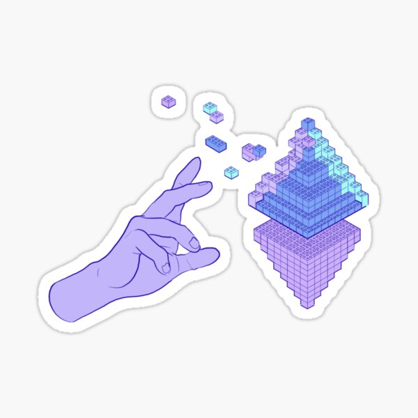 Defi Building Blocks Sticker