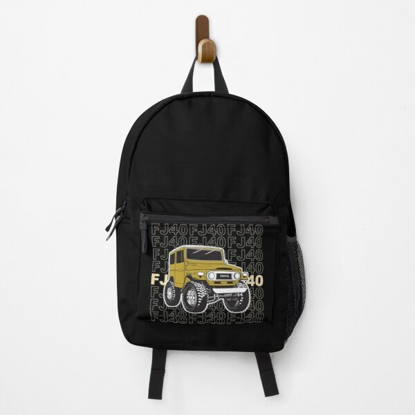 Toyota Landcruiser FJ40 Harvest Gold Stacked Backpack