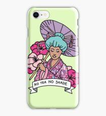 Geisha shade edm rap kawaii japan anime pokemon glitter typography iPhone Case/Skin