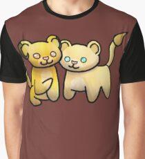 Cute Lion Couple Graphic T-Shirt