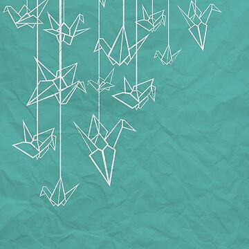 White Cranes by MrZafra