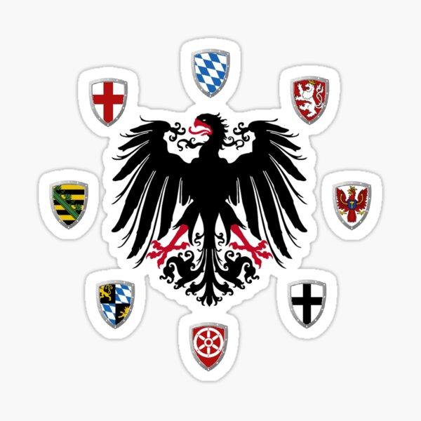 Holy Roman Empire Electors Sticker