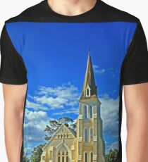 Evandale church Tasmania Graphic T-Shirt