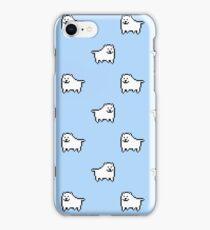 Undertale Annoying Dog - Pastel Blue iPhone Case/Skin