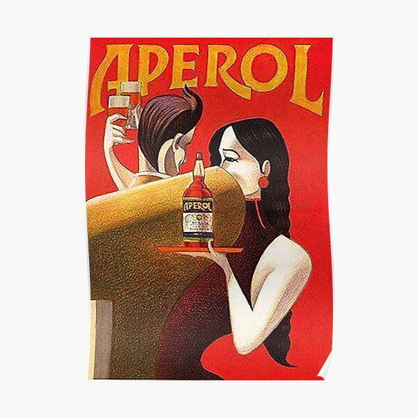 Aperol Party Poster
