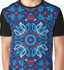 Folk Floral Tale Graphic T-Shirt