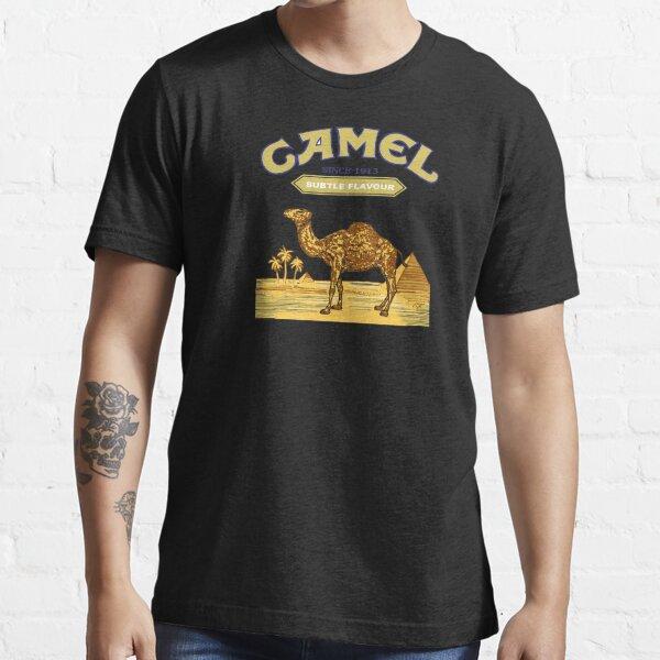 Cigarettes de chameau T-shirt essentiel