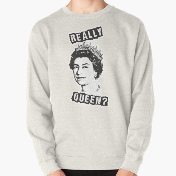 ¿Realmente la reina Isabel? Sudadera sin capucha