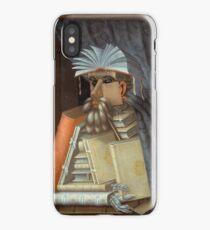 Giuseppe Arcimboldo - The Librarian 1562  iPhone Case/Skin