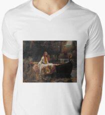 John William Waterhouse - The Lady of Shalott 1888 . Woman Portrait  T-Shirt