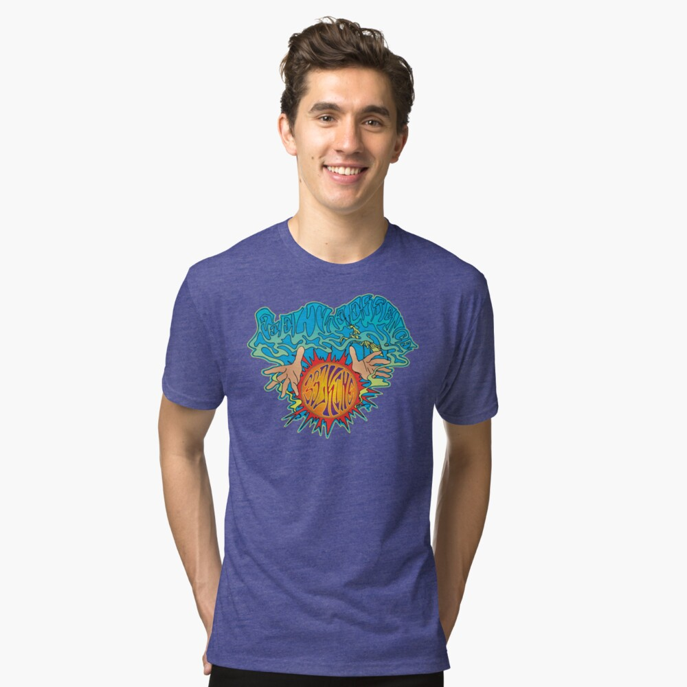 Feel The Essence Tri-blend T-Shirt Front