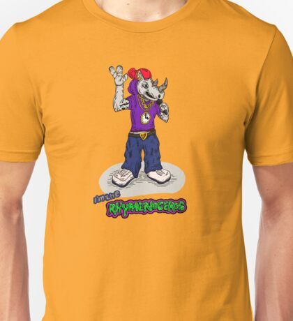 FLIGHT OF THE CONCHORDS - THE HIPHOPOPOTAMUS AND THE RHYMENOCEROS - THE RHYMENOCEROS VERSION 2 T-Shirt