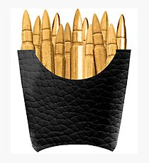 Bullet Fries Photographic Print
