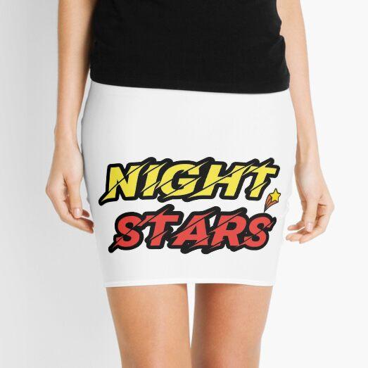 Night Stars  Mini Skirt
