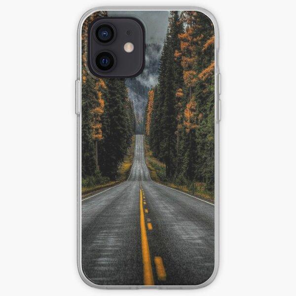 Hermosos caminos de montaña Funda blanda para iPhone