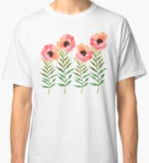 Watercolor Flower Classic T-Shirt