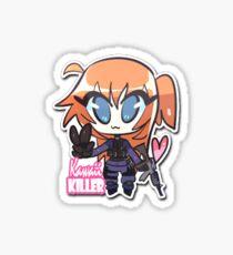 Kawaii Killer Sticker