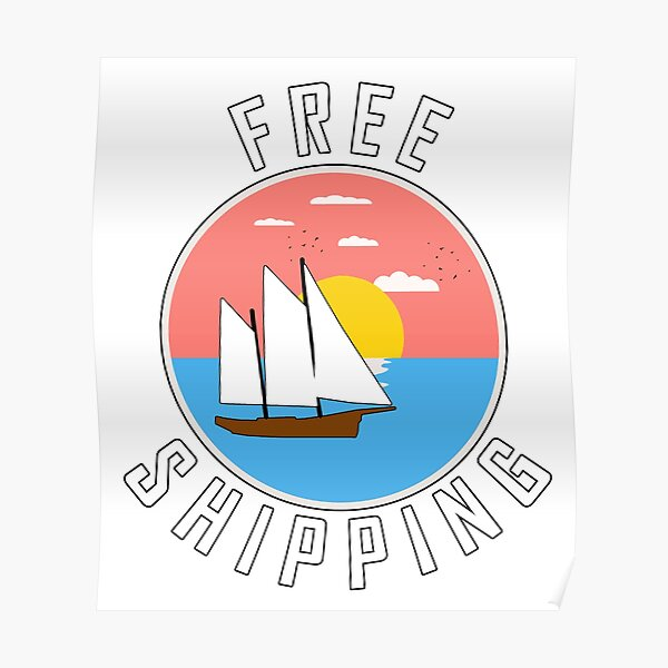Free Shipping! Poster