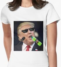 MLG Trump Womens Fitted T-Shirt