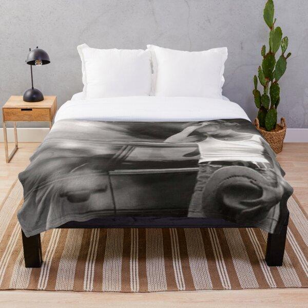 Gia Carangi Throw Blanket By Maddie4real Redbubble