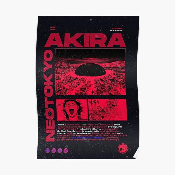 Akira - Neotokyo Poster