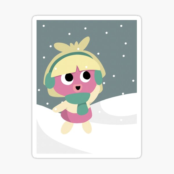 snowy smoochum Sticker