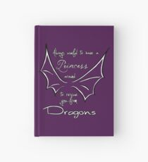 Rescue you from dragons Hardcover Journal