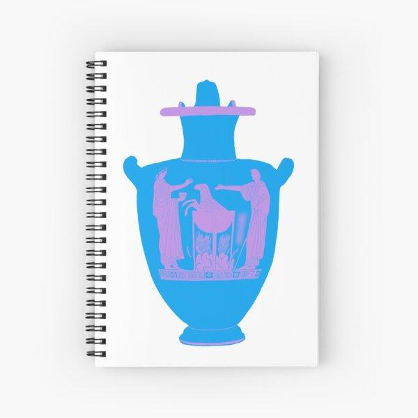 Medea Vase  Spiral Notebook