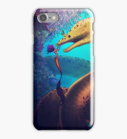 My Old Friend (Digital Illustration) iPhone Case/Skin