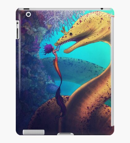 My Old Friend (Digital Illustration) iPad Case/Skin