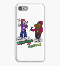 FLIGHT OF THE CONCHORDS - THE HIPHOPOPOTAMUS AND THE RHYMENOCEROS - TOGETHER ON THE ONE SHIRT iPhone Case/Skin
