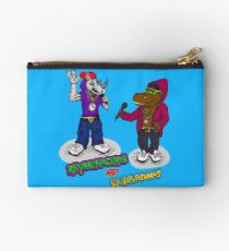 FLIGHT OF THE CONCHORDS - THE HIPHOPOPOTAMUS AND THE RHYMENOCEROS - TOGETHER ON THE ONE SHIRT Studio Pouch