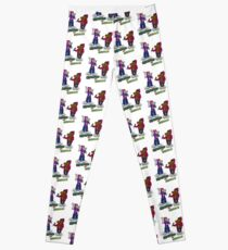 FLIGHT OF THE CONCHORDS - THE HIPHOPOPOTAMUS AND THE RHYMENOCEROS - TOGETHER ON THE ONE SHIRT Leggings